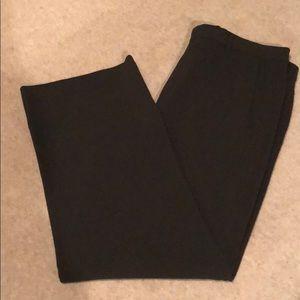GIORGIO ARMANI Black Label Charcoal Wool Pants